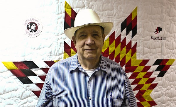 Tribal law instructor and author visits Tanka Bar headquarters