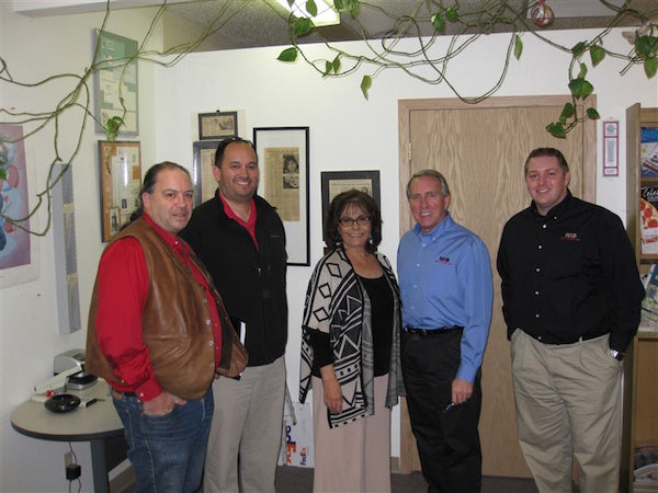 Native American Bank visits the Tanka headquarters