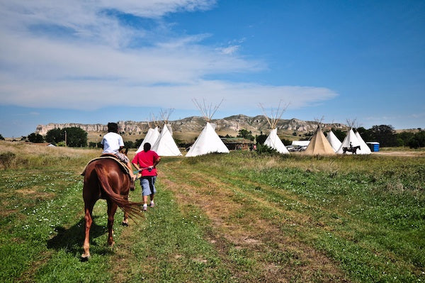 Healing camp works to help children on the Pine Ridge Indian Reservation