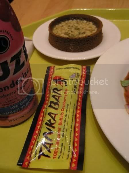 Museum-worthy meal: Tanka Bar and a rosemary pine nut tart