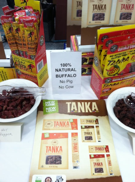 Tanka is going strong at UNFI West Winter Holiday Show