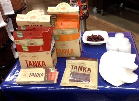 Tanka products are in all nine Central Market locations across Texas