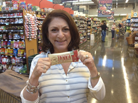 This is Jeanine who was shopping at the Central Market in Plano. She said to be sure to let Hollywood know where to find her.