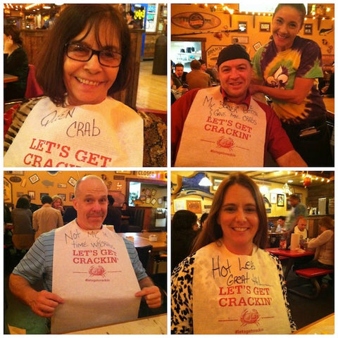 Our team winded down after the Expo at a local crab shack. Our CEO Ms. Hunter, top left, loves crab legs! Pictured in the rest of the photos from top right to bottom right are: Mr. Tilsen; Chris Mathewson, vice-president of NSS and Michelle Rochelle, also of NSS.