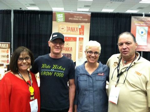 Ms. Hunter and Mr. Tilsen with Clif Bar founder Gary Erickson and his wife Kit Crawford.