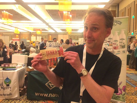 Rob Levengood with Green Fields Market is a big fan of Tanka products.