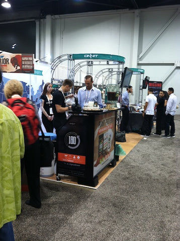 The Onnit booth.