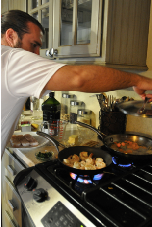 Cooking with Tanka: Spicy Tanka Paella by Erik Wolf