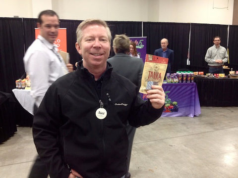 David from Central Market corporate stopped by our booth! Thanks, David!