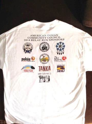 Our logo was even featured on the AICC volunteer t-shirts.