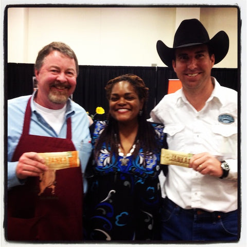 We chatted with Kent Wenzel of Wenzel Lonestar Meat Co. and Cody Lane of Pederson's Natural Farms at the Central Market Supplier Partner Showcase! Had an enlightening convo.