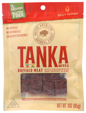 Tanka Bites Spicy Pepper Box