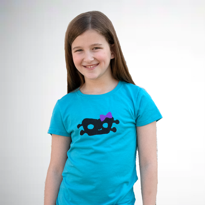 Ms. Roboto Kid's T-Shirt