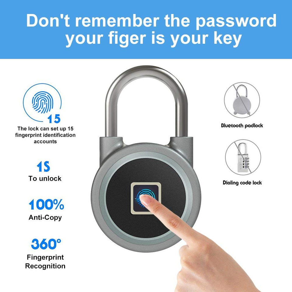 Fingerprint Scanning Smartlock