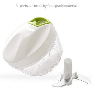 Portable Manual Kitchen Food Processor-Choppers & Mincers