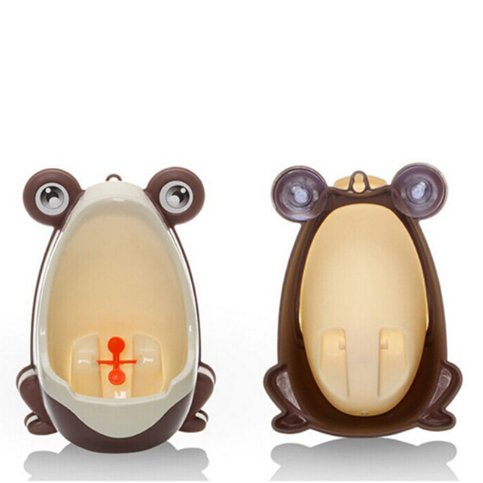 Frog Shaped Boys Potty Training Urinal with Whirling Target | Potty