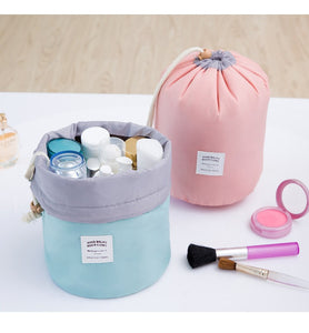 Barrel Travel Cosmetic Organizer