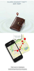 Smart Wallet with GPS