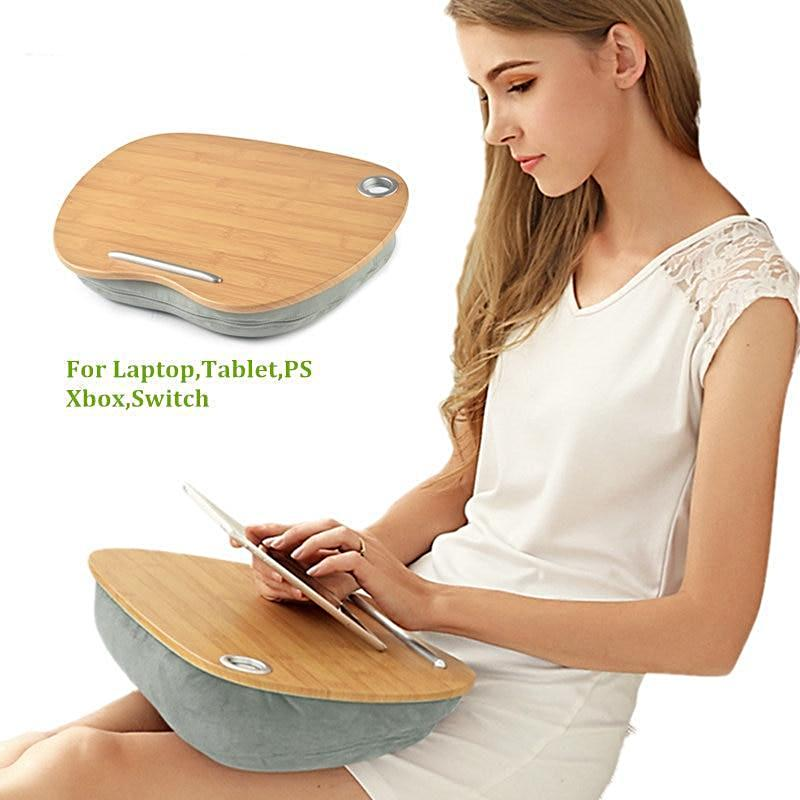 Multi-Function Lap Desk (Wood Top)
