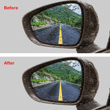 Anti Mist, Anti-Fog & Anti-Glare Side Mirror Film (2pcs)