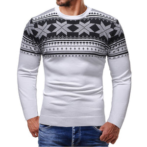 Mens Knitted O-Neck Sweater - Standard Wool - Hoodie - Shirt - Apparel - Clothes - Sweater