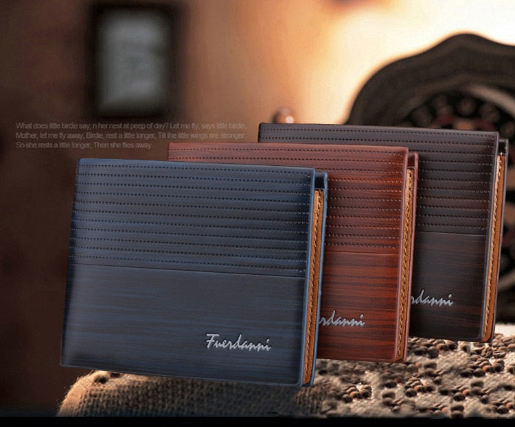 Mens Luxury Leather  Wallet
