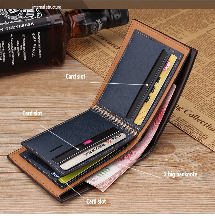 Mens Luxury Leather  Wallet | Credit Card Holder | Men Wallet | Luxury Leather Wallet | Wallet | Leather Wallet