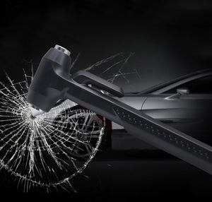 Emergency Car Hammer + Seat Belt Cutter |  Escape Tool | Glass Breaker