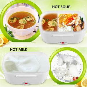 Electric Heating Lunch Box for School, Office, Home and Outdoor