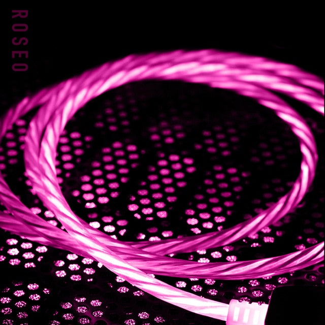 Cool Night Glow USB Charger Cable