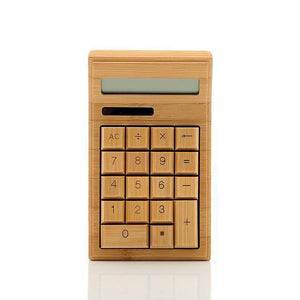 Technology Handmade Bamboo Solar Energy Calculator - Bamboo Diaries
