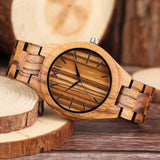 watch Orzilli Natural Bamboo Wooden Watch - Bamboo Diaries