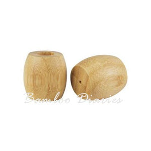5pcs Bamboo Toothbrush Holders-Bamboo Diaries
