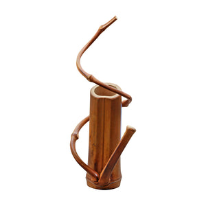 Bamboo Flower Vase Home Decor-Bamboo Diaries