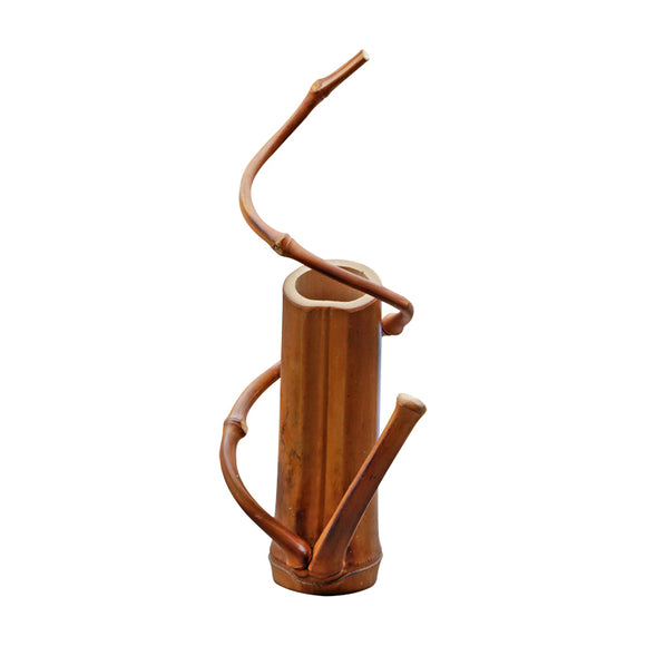 Homeware Bamboo Flower Vase Home Decor - Bamboo Diaries