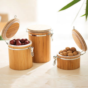 Bamboo Storage Jars-Bamboo Diaries
