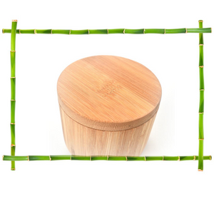 Bamboo Container for Salt, Pepper and Spices-Bamboo Diaries