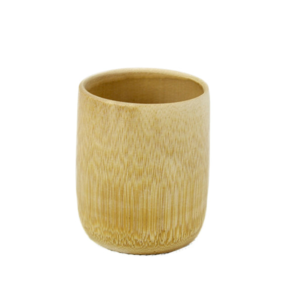 Drinkware Natural Handmade Bamboo Cup - Bamboo Diaries1x cup