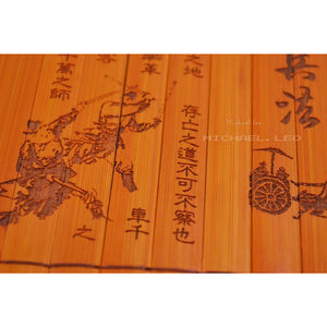 "Rare Ancient Bamboo Book ""The Art of War"" Home Decor-Bamboo Diaries"