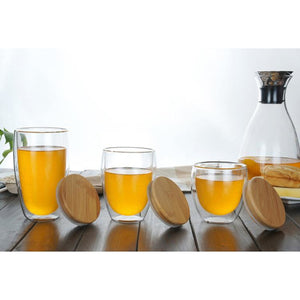 Double Wall Mug with Bamboo Lid-Bamboo Diaries