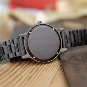 Bamboo Wooden Watch-Bamboo Diaries