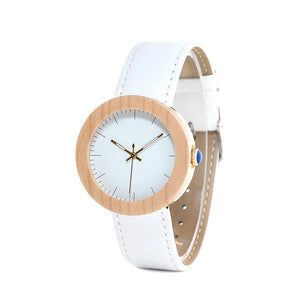 Panther Eli Bamboo Wooden Women Watch-Bamboo Diaries