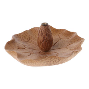 Creative Bamboo Flower Shape Incense Burner Holder-Bamboo Diaries