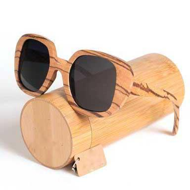 sunglasses Georgia Unisex Bamboo Sunglasses - Bamboo Diaries