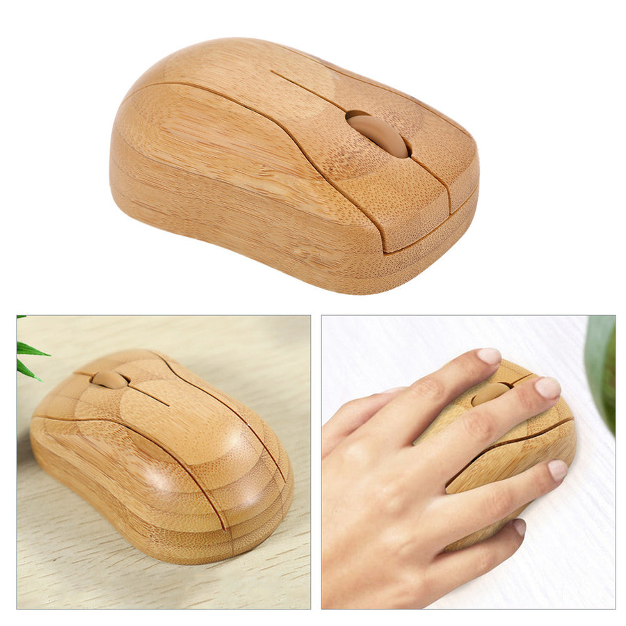 2.4G Bamboo Wireless Mouse-Bamboo Diaries
