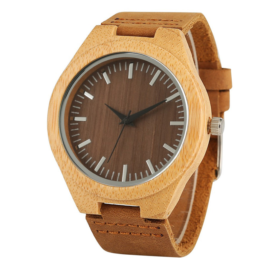 Danzig Bamboo Wooden Watch-Bamboo Diaries