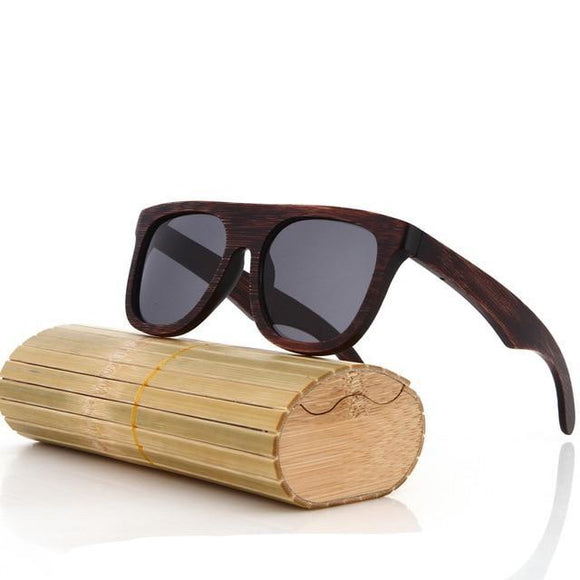 Aretha Men Bamboo Sunglasses-Bamboo Diaries