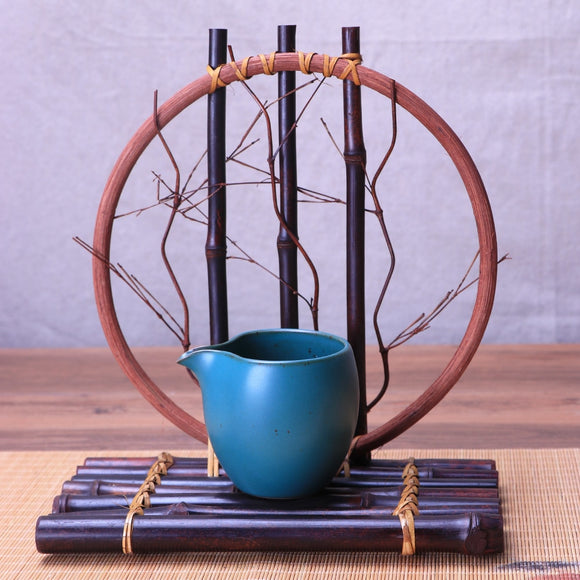 Homeware Purple Bamboo Flower Stand - Bamboo Diaries