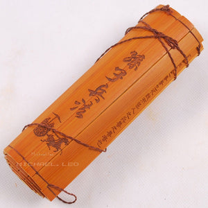 "Homeware Rare Ancient Bamboo Book ""The Art of War"" Home Decor - Bamboo Diaries"