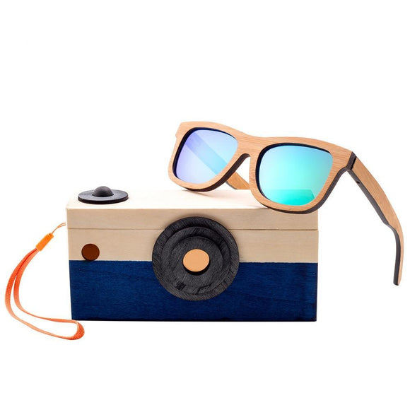Angcen Children Bamboo Sunglasses-Bamboo Diaries